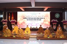 HCM City: Monks, Buddhist followers offer prayers to COVID-19-hit India