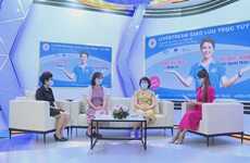Online talk show calls for stopping second-hand smoke