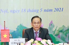 Vietnam informs Cambodian party on outcomes of 13th National Party Congress