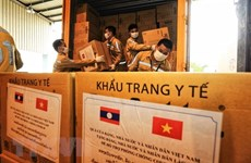 Additional aid provided for Laos' COVID-19 fight