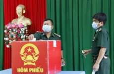 Early voting held in island, mountainous areas of Ca Mau, Quang Binh