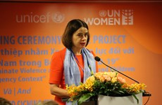 Australian-funded initiative aims to eliminate violence against women, children