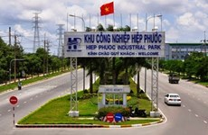Investment in HCM City's industrial parks up 23 percent