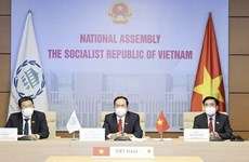 Vietnam calls for stronger partnership in dealing with COVID-19 at 142nd IPU Assembly