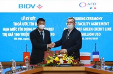 BIDV signs green credit agreement with French Development Agency