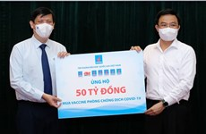 COVID-19 vaccine fund raises 185 billion VND