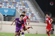 Vietnam draw 1-1 with Jordan in closed door friendly match