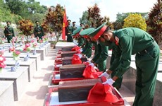 Kon Tum lays martyrs' remains to rest