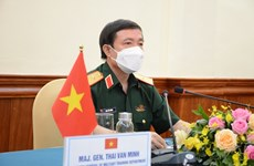 Vietnam joins online conference on Army Games preparations