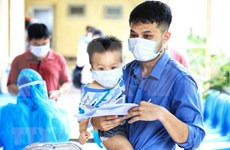 Bac Giang: Children under five allowed to be quarantined at home