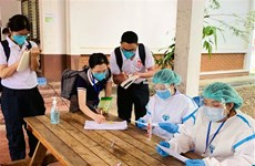 Laos urges people to get inoculated