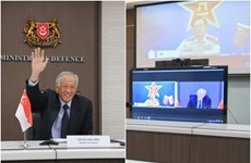 Singapore, China vow to strengthen defence cooperation