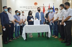 Vietnamese expats in Egypt contribute to vaccine fund
