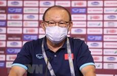 Coach Park Hang-seo: No pressure on national men's football squad