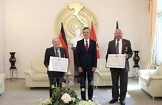 German friends awarded with Vietnam's noble distinctions