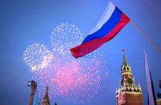 Leaders extend congratulations on Russia Day