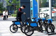 Hanoi to pilot rental of e-bikes linked with bus system in Q3