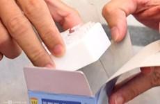 Vietnam Buddhist Sangha presents COVID-19 test kits to Nepal