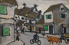 Bui Xuan Phai's paintings to be auctioned in Singapore