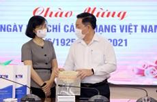 Senior Party official congratulates VNA on Revolutionary Press Day