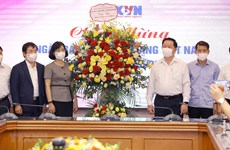 Greetings extended to press agencies on Revolutionary Press Day