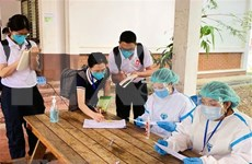 Laos applies compulsory quarantine to people having close contact with COVID-19 patients