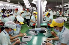 Long An province's six-month industrial production index up 7.5 percent