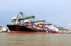 Container goods via seaports up 22 percent in H1