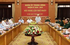 Party chief chairs first meeting of 2020-2025 Central Military Commission