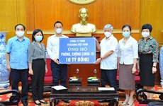 Korean firm contributes 10 billion VND to COVID-19 vaccine fund