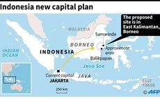 Indonesia to start moving state apparatus to new capital in 2023