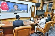 India, Singapore enhance strategic partnership