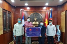 Lao province supports Vietnam to fight COVID-19