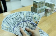 Reference exchange rate up 34 VND