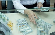 Reference exchange rate up strongly at week's beginning