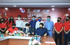 SABECO to sponsor national football teams for one year