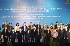 Vietnamese Foreign Minister chairs ASEM High-level Policy Dialogue