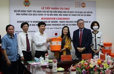 UNFPA presents dignity kits to women, girls in pandemic-hit areas