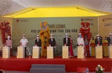 Construction of major ecotourism site begins in Thanh Hoa