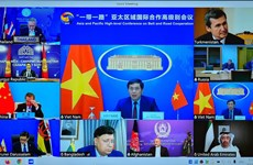 Vietnam attends Asia & Pacific High-level Conference on Belt & Road Cooperation