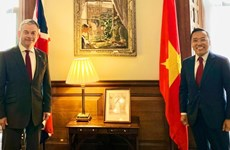 British diplomat rejoices at development of UK-Vietnam ties