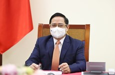 PM proposes WHO support and prioritise vaccine delivery to Vietnam