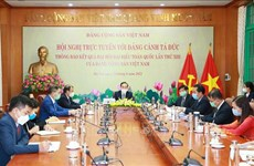 Vietnam informs outcomes of Party Congress to Germany's The Left party