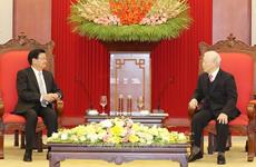 Top Lao leader's Vietnam visit to deepen bilateral relations