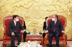Lao leader vows to foster special relationship with Vietnam