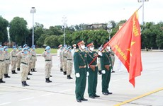 Staff of Level-2 Field Hospital No.2 pay homage to late President Ho Chi Minh