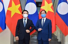 Foreign Minister Bui Thanh Son hosts Lao counterpart