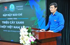Tree planting - for a green Vietnam programme launch