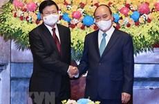 Top Lao leader's Vietnam visit – historical milestone in bilateral ties