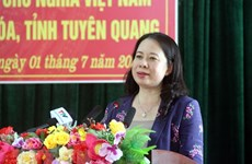 Vice State President visits Tuyen Quang